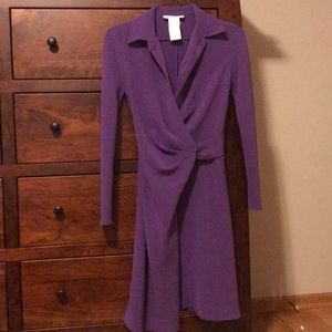 Max Mara Purple cross dress